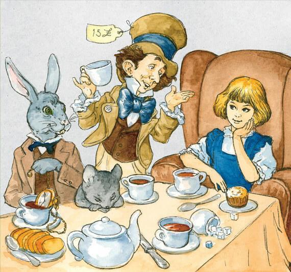 Book Alice's Adventures in Wonderland in German