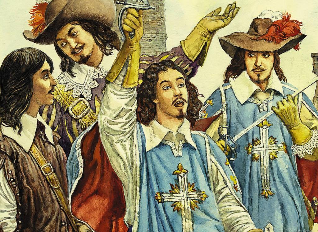 Book The Three Musketeers in Spanish