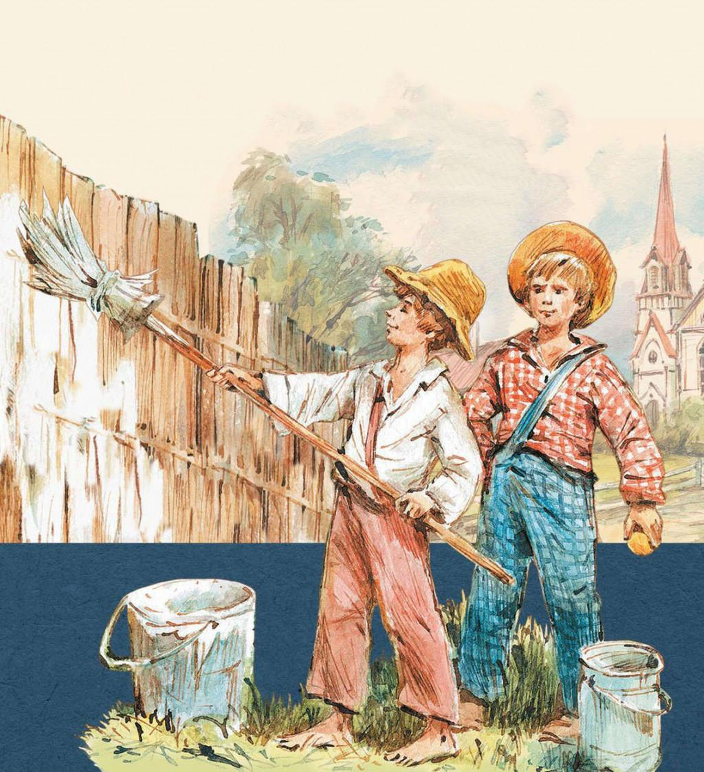 Book The Adventures of Tom Sawyer in Russian