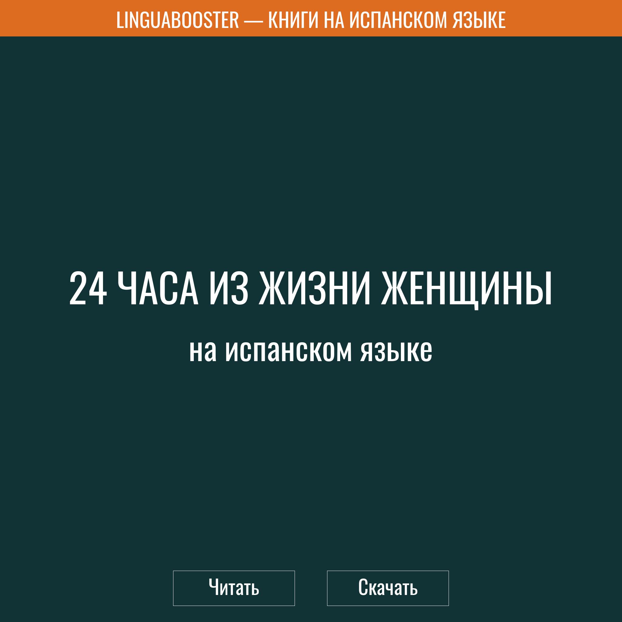 Читать книгу  «24 часа из жизни женщины»